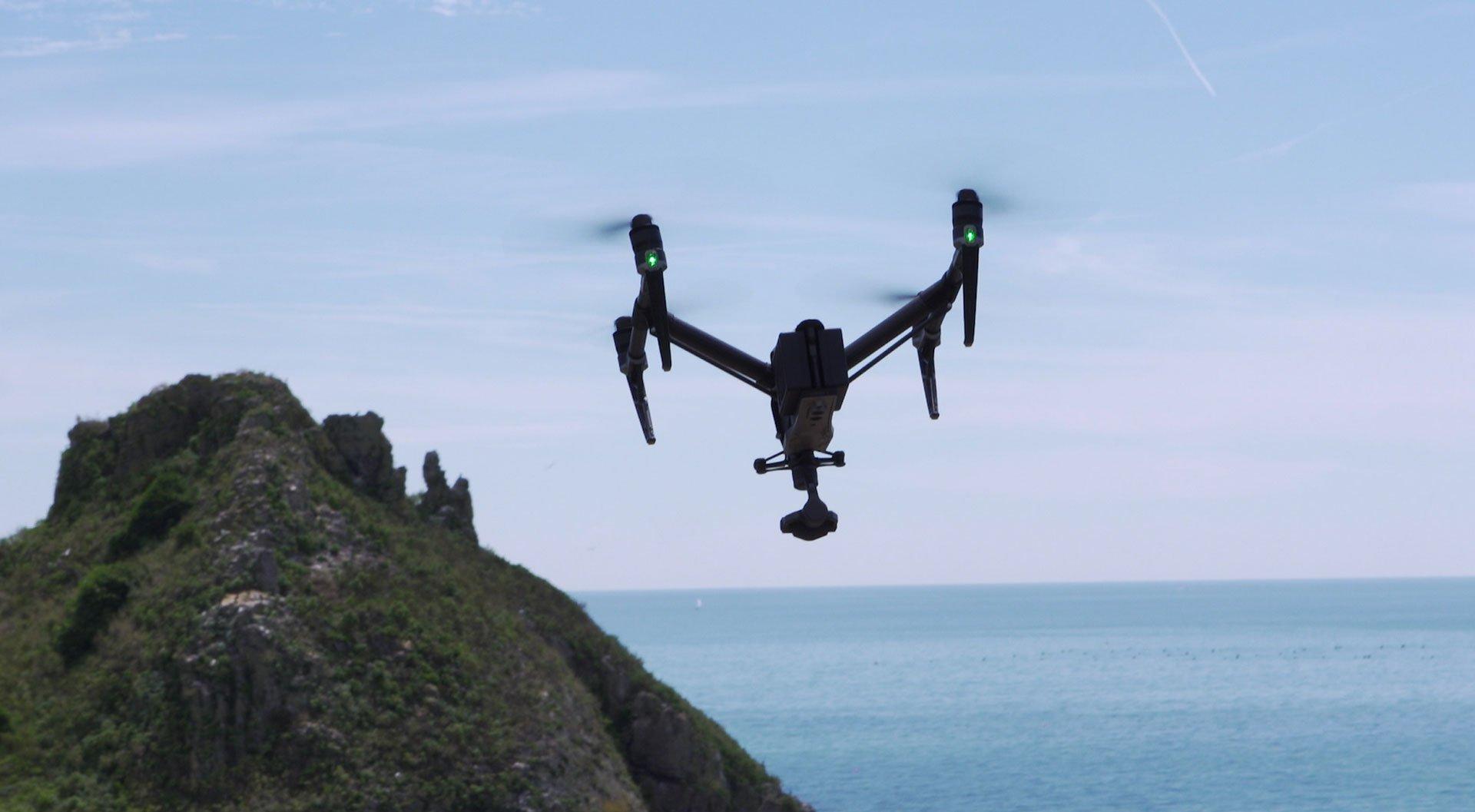 DroneInspire2flying