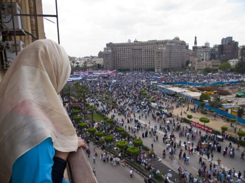 The effects of the January 2011 Revolution continue to reverberate as Egypt forges a new destiny (Photo Tahrir Square, Friday 8 April 2011, by James X)